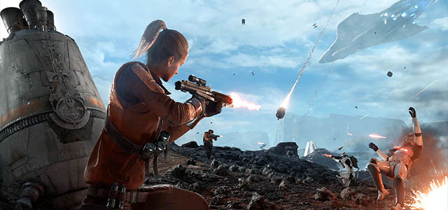 Star Wars Battlefront's Dropzone